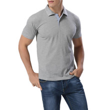 Hot Polo 2016 New Fashion brand Short Sleeve Men Polo Men Cotton Casual Breathable Fitness Boss Men Polo Shirts Size:M~3XL(China)