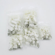 100Sets/Lot Mix Kit XH 2.54 2P 3P 4P 5P 6P Connector Leads Header Housing Pin header Terminal