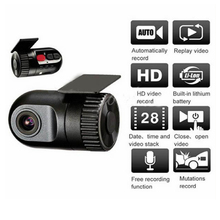 HD 5M 720P G-sensor Mini Car Dashboard Camera DVR Camera TF Video Recorder with Retail Package Free Shipping