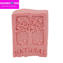 1pc supernova sale new 2017 tree Soap mold silicone  NATURAL phytoncid Decorating Clay free shipping