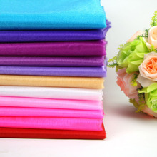 Hot Sale !48CM X 4.5m Sheer Crystal Organza Tulle Roll Fabric for Wedding Party Decoration Mariage Boda Wedding Favors and Gifts