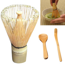 Behokic 1set Japanese Style Tea Set Matcha Green Tea Whisk Powder Set Including Whisk Scoop Tea Spoon Tools(China)