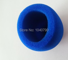 10 Pieces Blue Handheld Stage Microphone Windscreen Foam Mic Cover Karaoke(China)