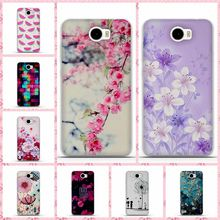 Phone Case for Huawei Y5 II Y5 2 Silicone Cases Cover Shell 3D Skin Painted Soft TPU for Huawei Y5 II Back Cover Bag 5.0 inches