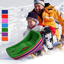 New Arrival Adult Kid Sled Winter Snow Sport Sand Grass Sliding Toboggan Downhill Sledge Snow Sled for Child