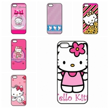 Pink Hello Kitty For HTC One X S M7 M8 Mini M9 Plus A9 Desire 816 820 826 Phone Case Skin Cover