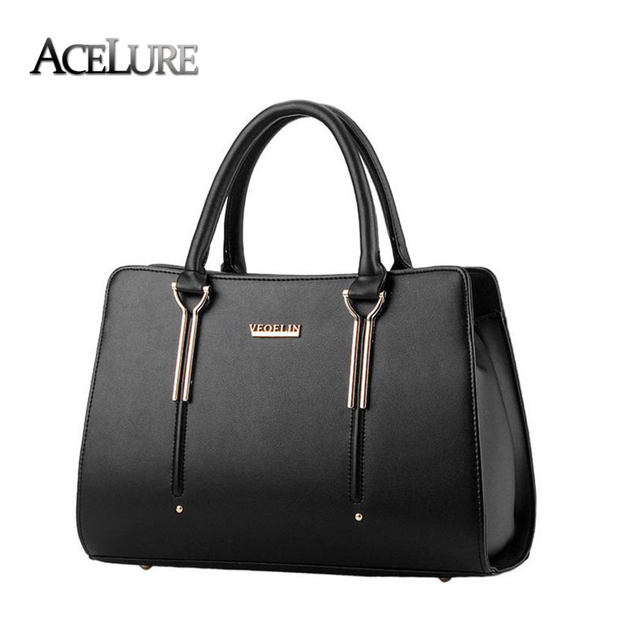Women pu leather handbags 2017 new ladies shoulder bags tote bags girls shopping bags female high quality messenger bags bolsos<br><br>Aliexpress