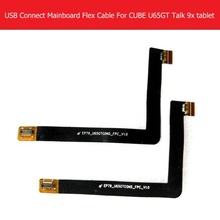 Usb charger connect MainBoard Flex Cable For Cube u65gt talk 9x chargering board connector flex cable KB U65GT-F KNGC2235M-2023C