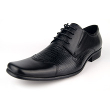 Italian Designer Oxford Vintage Dress Shoes Brand Genuine Leather Men Carved Casual Shoes Male Business Wedding Shoes