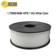Supporting Material In 3D Printing Similar Property with ABS filament 1.75mm/3.0mm HIPS Filament For 3D Printer(China)
