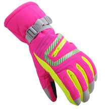 New Outdoor Winter Skiing Waterproof Warm Unisex Gloves Mountain Skiing Gloves Breathable Snowboard Gloves(China)