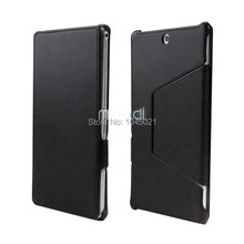 "New 2016 heat setting laptop case for Sony xperia Z3 8"" tablet Compact protective shell with PU leather case free shipping"