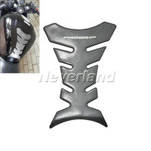 1pcs Carbon Fiber Tank Pad Tankpad Protector Sticker For Motorcycle Universal Fishbone Freeshipping D05(China)