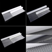 New Arrival VA Mat Non-adhesive Transparent Cupboard Cabinet Mat Shelf Drawer Liner Non-slip Table Cover Mat(China)
