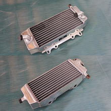 For Suzuki RMZ250/RMZ 250 2004 2005 2006 04 05 06 L&R aluminum alloy radiator For Kawasaki KX250F 2004-2005(China)