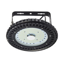 3pcs 100w UFO high bay light 220V 240V led highbay light 12000lms led lamp industrial 204LEDs Industrial ceiling light