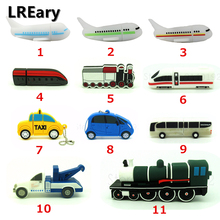 Full capacity car/plane/train/truck model Pen Drive Aircraft Airplane 4GB 8GB 16GB 32GB USB Flash Drive Pendrive memory stick(China)