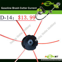 Free Shipping buy 2 get 1 free petrol lawn mower trimmer 2-stroke brush cutter head grass cutting machine gasoline plastic D-14(China)