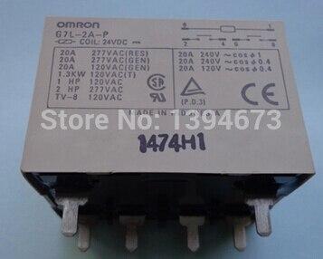 NEW relay G7L-2A-P 24VDC G7L-2A-P-24VDC G7L2AP G7L2AP24VDC G7L-2A G7L 24VDC DC24V 24V  DIP6 2pcs/lot<br><br>Aliexpress