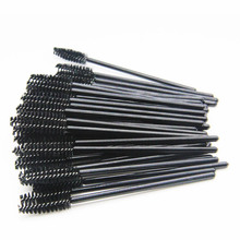 Foonbe Brand 50 Pcs/lot Lashes Curler Brushes Eyes Makeup Cosmetic Tool Eyelashes Brush Women pinceis de maquiagem for Mascara(China)