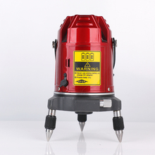 Infrared laser level 2 line 1 point digital red light Line device with free shipping