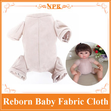 Hot Welcome 16'' /20'' 22'' Reborn Baby Polyester Fabric Cloth Fit For 3/4 Arms And 3/4 Legs DIY Reborn Baby Doll Kit Baby Doll(China)