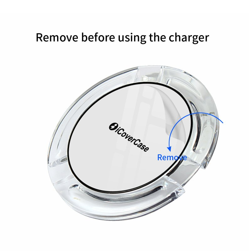 Wireless Charger For Samsung Galaxy Note 5 S7 S6 Edge Charging Power Bank Phone Accessory Pad For Samsung Galaxy 5 S6 S7 Charger 6
