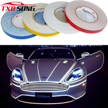 1CMX10M 3m Reflective tape for car decoration, reflective vinyl sticker by free shipping(China)