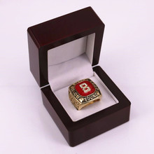 Factory price US size 11 Hall of Fame 2005 STEVE YOUNG number 8 championship ring replica for fans drop shipping(China)
