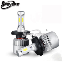 Buy SPEVERT Plug Play H7 110W 26000LM Headlamp Ampoule Bulb 6000K Diamond White Car LED Headlight Kit Replacement Bulbs 12v 24v for $30.78 in AliExpress store