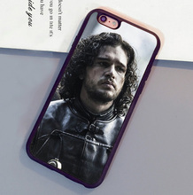 Game Of Throne Season 4 Jon Snow Print Mobile Phone Case For iPhone 6 6S Plus 7 7 Plus 5 5S 5C SE 4S Soft Rubber Skin Back Cover