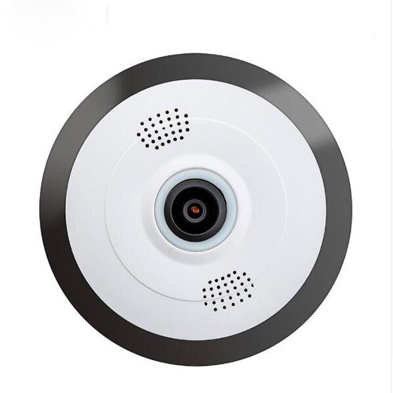 Wireless 960P Wifi Ip Camera 360 Degree Panoramic Home Security Mini Camera Fisheye Surveillance Cameras Night Vision Camera<br>