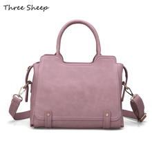 Famous Designer Brand Bags Women Leather Handbags Purses and Handbags Pink Tote Bag Ladies Hand Bags Sacoche Femme