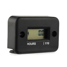 Waterproof Digital LCD Counter Hour Meter for Dirt Quad Bike ATV Motorcycle Snowmobile Jet Ski Boat Pit Bike Motorbike Marine