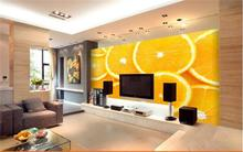 3D wallpaper ceiling/custom photo wall paper/Contemporary and contracted hd fruit features/Bedroom/KTV/Hotel/bar/living room