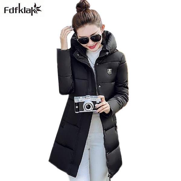 Woman winter warm coat 2017 new female down jacket thickening long coat jacket womens hooded parkas slim winter jackets M-3XLÎäåæäà è àêñåññóàðû<br><br>