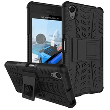 Heavy Duty Armor Case For Sony Xperia X Performance TPU+PC Hybrid Armor Shockproof Back Case Cover For Sony Xperia X Performance(China)