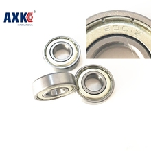 2017 Real Rushed Steel Rolamentos Thrust Bearing Axk 2x 6001zz Double Shielded Deep Groove Ball Bearings 28x12x8mm(China)