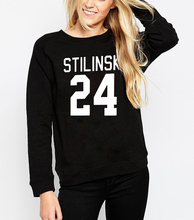 2017 Autumn Winter Wolf Stiles Stilinski Teen 24 Women Sweatshirt Jumper Casual Harajuku Hoodies For Lady Funny Hip Hop Street