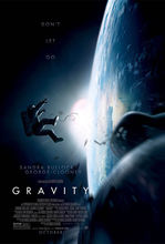 GRAVITY Movie Poster George Clooney Sandra Bullock Art Silk Poster Print Home Wall Decor