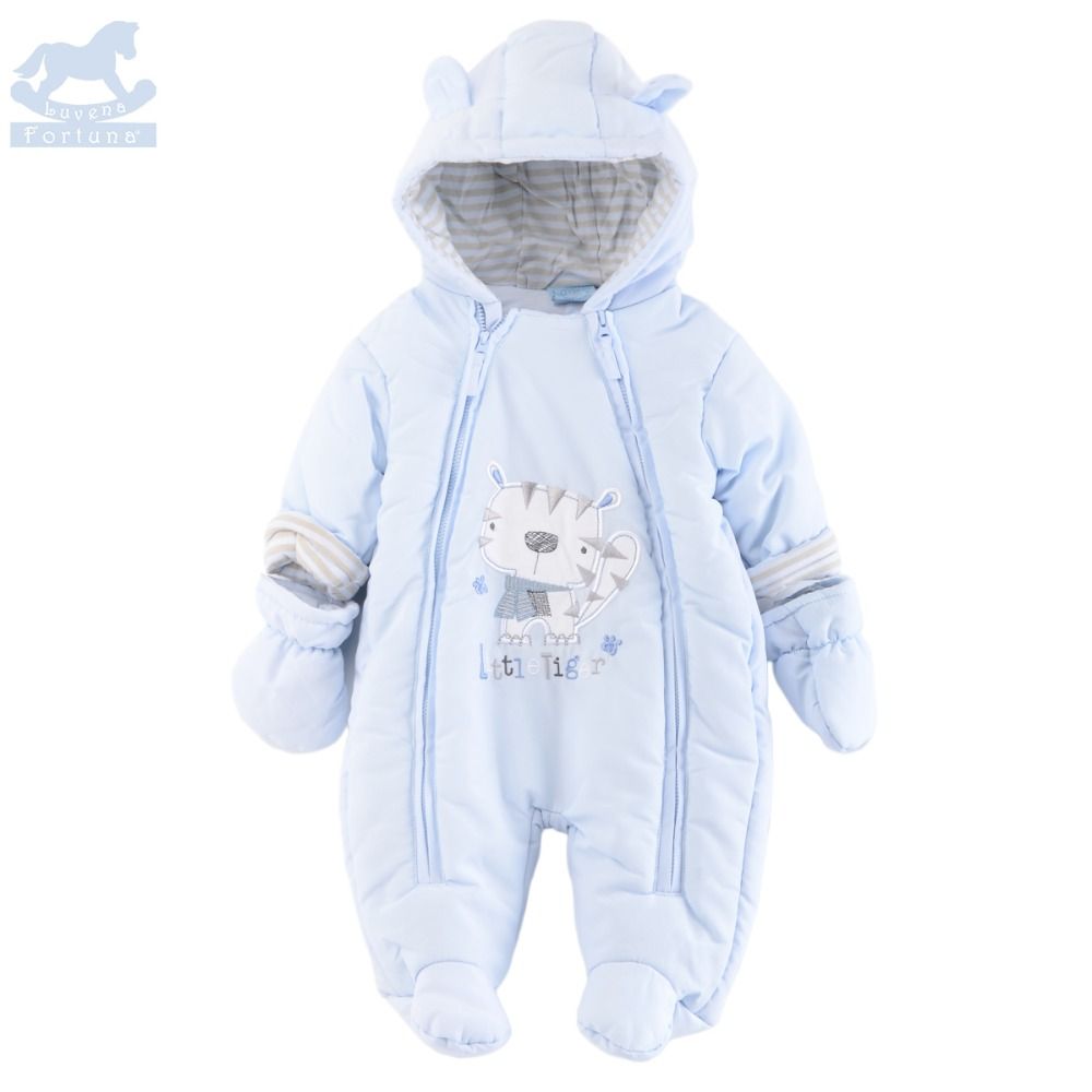 Luvena Fortuna  New Style Autumn&amp;Winter 2 Colors Cute Character Baby Boys&amp;Girls Snowsuit For Baby Boys&amp;Girls Outerwear <br>