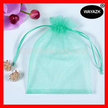 (1000pcs/lot) 4 sizes available wholesale QUALITY organza transparent make up cosmetic bag(China)