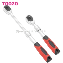 "3/8"" Drive Extending Telescopic Shaft Ratchet Handle Socket Wrench Heavy Duty -Y121 Best Quality"