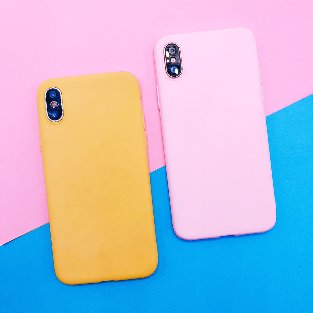 For huawei P20 plus lite P10 P9 lite plus P smart Candy Color soft TPU Case on mate 9 10 pro Nova 2 plus 3e Y9 2018 cover funda (34)