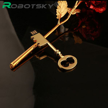 Mini tiny Metal Gold Key USB Flash Drive Pen Drive Pendrive 4GB 8GB 16GB 32GB Flash Memory Stick Drive U Disk