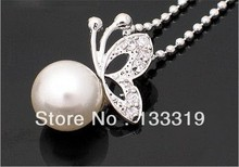 Fashion imitation pearl jewelry Fashion jewellery settings, Pendant,Free necklace Vintage Jewelry  2017 HOT