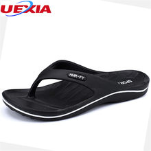 cdabea35bec UEXIA Summer Flip Flops Men Shoes Slippers Leisure Fashion Holiday Beach  Non-slip Lightweight EVA Durable Anti-skid Comfortable