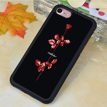 Stylish Popular Depeche Mode Soft Rubber Phone Cover For Samsung S3 S4 S5 S6 S7 edge plus Note 2 Note 3 Note 4 Note 5 Case