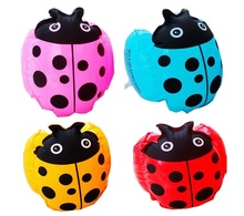 1pc Swim Training Equipments Inflatable Baby Float Ladybugs Cartoon Arm Bands 4 Colors