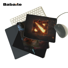 Babaite And Retail Large Rubber Mousepad Style Gaming Mouse Pad Dota gaming mouse pad designs 18*22cm and 25*29cm pad(China)